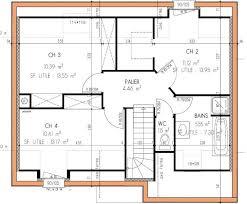 plan de maison a etage 5 chambres exemple de plan de maison a etage sisterchicas com