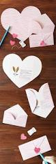 How To Fold Paper For Envelope Cute An Envelope And Card In One The Pink Stripe Love Letter Is