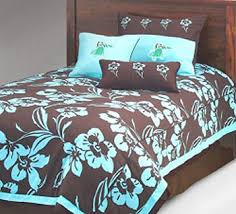 Blue Bed Sets For Girls by Navy Blue Bedding For Girls Blue And Chocolate Brown Tropical