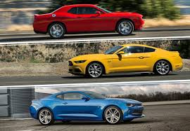 dodge challenger vs ford mustang ford mustang vs chevrolet camaro vs dodge challenger autos