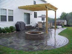 Backyard Pavers Ideas Image Detail For Paver Patio Designs Pictures Fire Pit