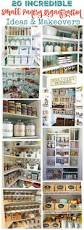 Kitchen Pantry Organizer Ideas by 20 Incredible Small Pantry Organization Ideas And Makeovers