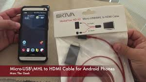 android phone to hdmi mediaflow cable mirror android phone to tv read update