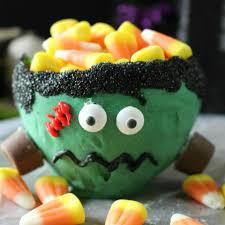 halloween candy bowl shop frankenstein edible candy bowl made from a ballon and chocolate