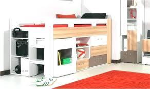 lit mezzanine avec bureau et rangement lit mezzanine avec armoire integree lit mezzanine avec armoire