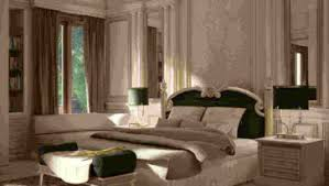 contemporary luxurious bedroom creative yellow wall design antique
