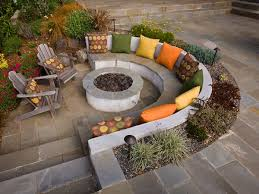 Bbq Side Table Plans Fire Pit Design Ideas - image result for turning an old pond into a fire pit backyard