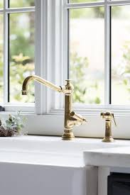 brass kitchen faucets antique brass vintage kitchen faucet with farm sink transitional