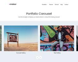 meteor portfolio and resume wordpress theme u2022 array themes