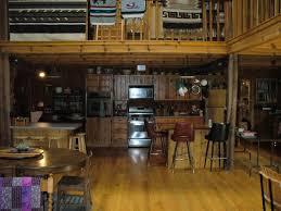 r b custom designs inc barn restoration restored barn interior view of kitchen