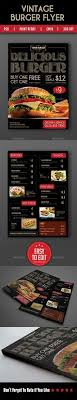 flyer menu template fast food menu flyer food menu menu and food menu template