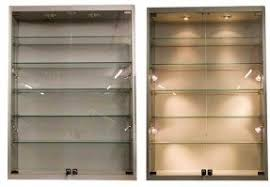 Glass WallMounted Cabinets Foter - Kitchen display cabinet