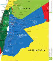 Jordan World Map by Jordan Map Royalty Free Stock Photo Image 37248615
