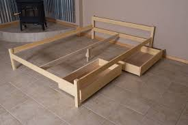Make Bed Frame How To Make A Simple Bed Frame Na Ryby Info