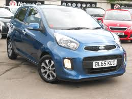 used kia picanto blue for sale motors co uk