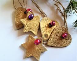 gold ornaments etsy