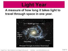 How Long To Travel A Light Year images Image from astronomy notes part ppt download jpg