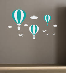 Wall Decals For Boys Room Wall Decals Air Balloons For Kids Room Baby Room Decor