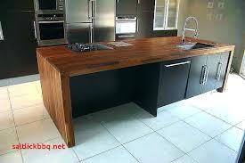 fabriquer un plan de travail pour cuisine meuble de cuisine avec plan de travail luxe meuble bas de cuisine