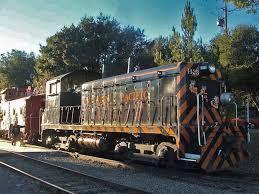 sunol train of lights golden gate railroad museum niles canyon railway museum f