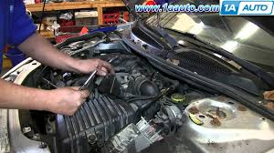 how to install replace 2 7l coolant bleeder housing 2001 06