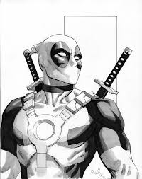 sketches for marvel deadpool sketches www sketchesxo com