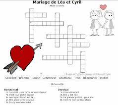 idã e jeu mariage jeu de mariage les mots croisés les jeux de mariage fr