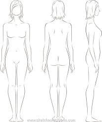 gallery for u003e male body template for costume design base