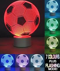 3d Lamps Amazon Football Soccer 3d Optical Led Illusion Lamps Fzai 7 Color