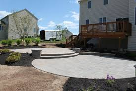 Patio Landscape Design Front Entry Landscape R R Caddick Landscape Design