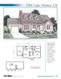 the cape chelsey i a to learn more about building your new home