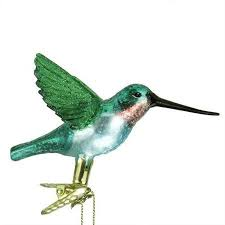 hummingbird ornament photo album tree