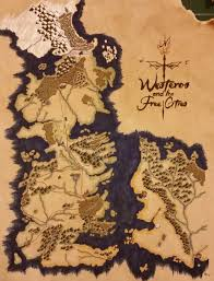 Map Westeros Game Of Thrones Making A Map Of Westeros And The Free Cities