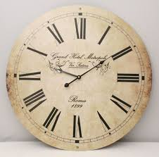 Large Shabby Chic Wall Clock by 22 Best Clocks Images On Pinterest Large Wall Clocks Clock Wall