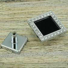 Chrome Kitchen Cabinet Knobs Online Get Cheap Black Chrome Cabinet Knobs Aliexpress Com