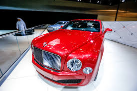 bentley chinese chinese automaker makes qatar debut amid luxury marques at motor