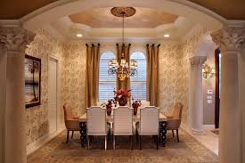 Ideas For Hanging Curtain Rod Design Surprising Hanging Curtain Rods Decorating Ideas For Dining Room