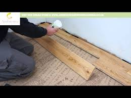 Youtube Laying Laminate Flooring How To Install Engineered Tongue U0026 Groove Flooring Youtube