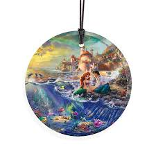 starfire prints disney circular glass ornament the