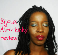 hair review bijoux afro kinky youtube