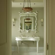 Period Bathroom Mirrors by White Bathroom Mirror With Frech Basin And Cream Walls French