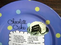 whimsical blue polka dot chocolate cake recipe cute cake plate