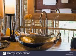 bathroom in a luxury bungalow luxury hotel six senses resort