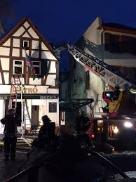 Krankenhaus Bad Nauheim Brennt Wohn Und Geschäftshaus Ffbn Feuerwehr Bad Nauheim
