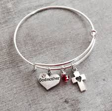 baptism charm bracelet blessed silver bracelet charm bracelet sajolie