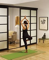 home design yoga room sliding glass stupendous zhydoor