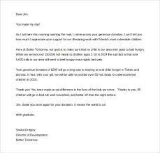 fundraising letter template u2013 7 free word pdf documents download