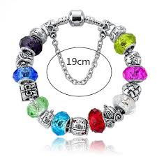 pandora glass bracelet images 925 sterling silver plated pandora inspired murano glass charm jpg