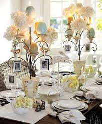 love love love this idea for a spring table setting green mossy