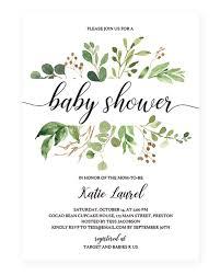 editable baby shower invitations gender neutral invitation